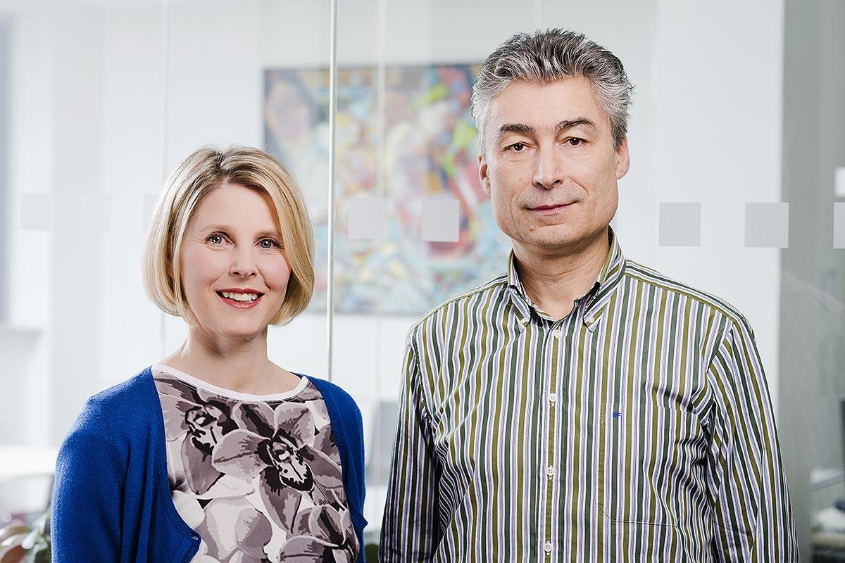 Sabine Risse und Prof. Dr. Renaldo Faber